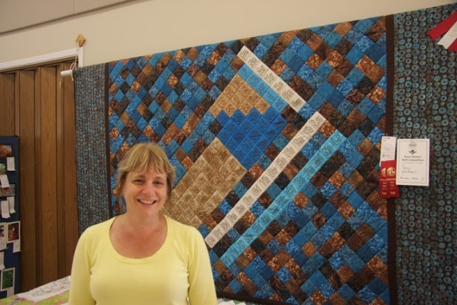 Grand Champion Quilt - Dunchurch Fall Fair 2013